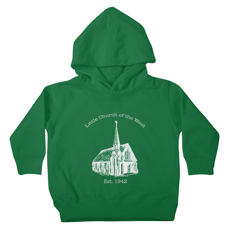 Chapel Kids Toddler Pullover Hoody by Little Church of the West's Artist Shop