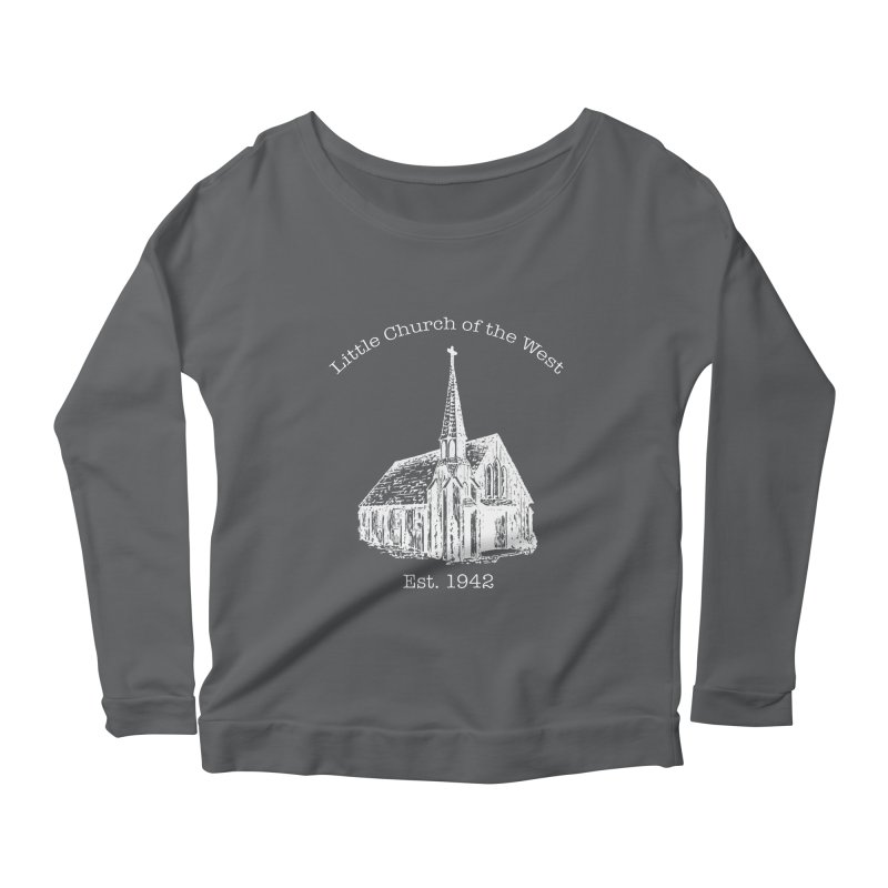 Chapel Women's Scoop Neck Longsleeve T-Shirt by Little Church of the West's Artist Shop