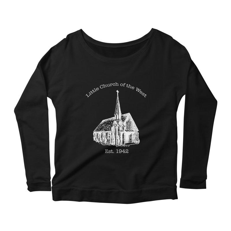 Chapel Women's Scoop Neck Longsleeve T-Shirt by Little Church of the West's Artist Shop