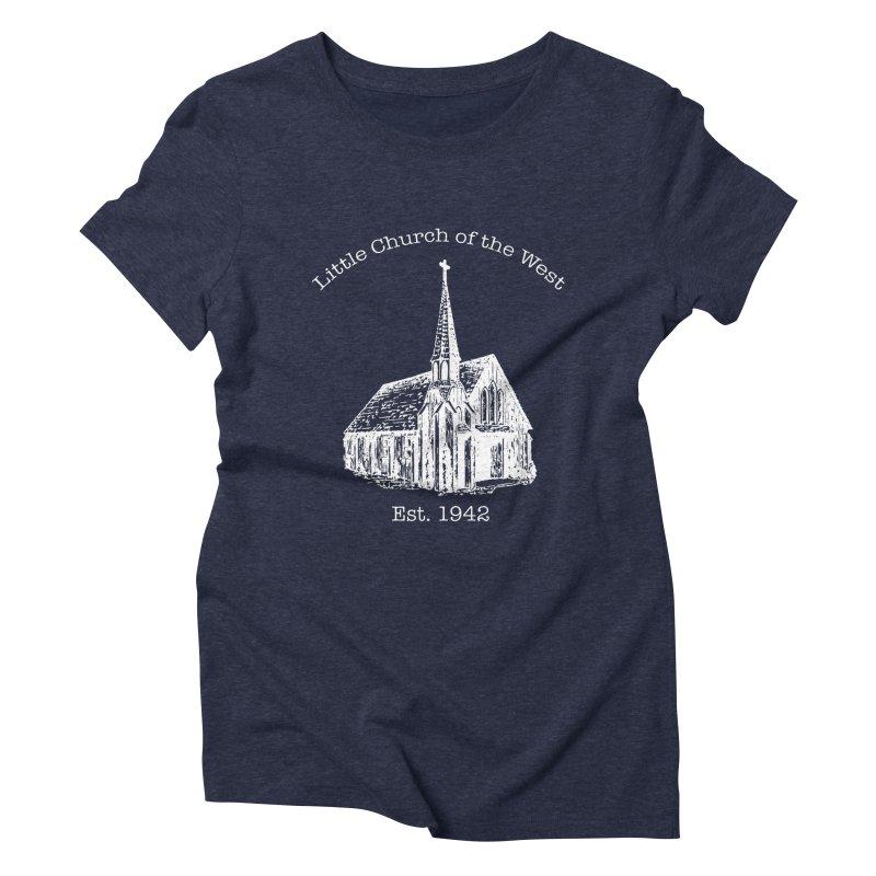 Chapel Women's T-Shirt by Little Church of the West's Artist Shop