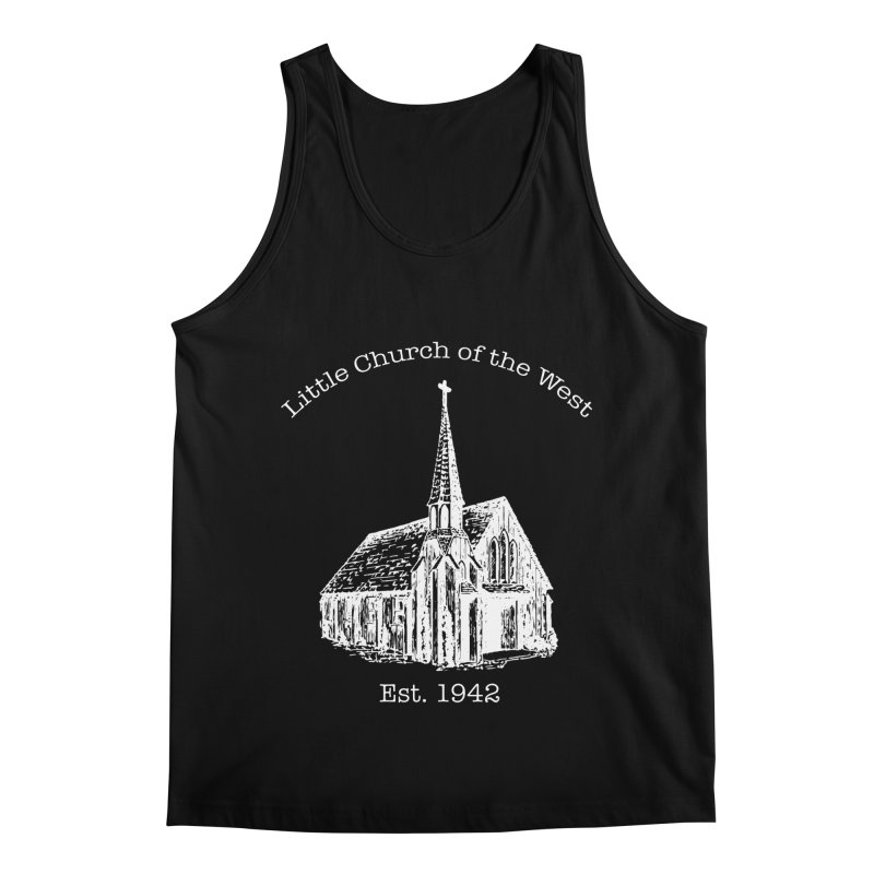 Chapel Men's Regular Tank by Little Church of the West's Artist Shop