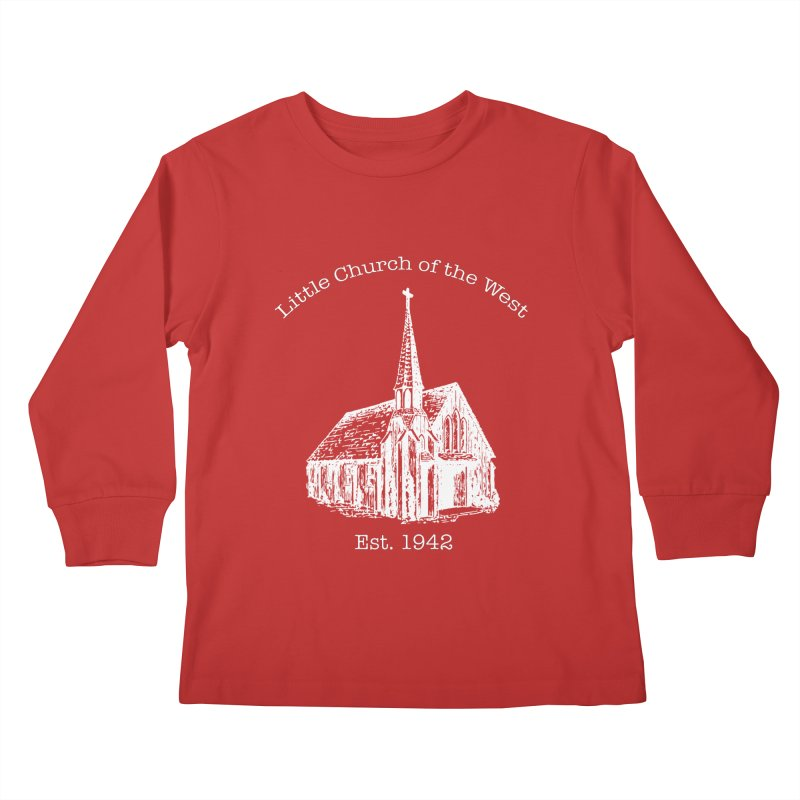 Chapel Kids Longsleeve T-Shirt by Little Church of the West's Artist Shop