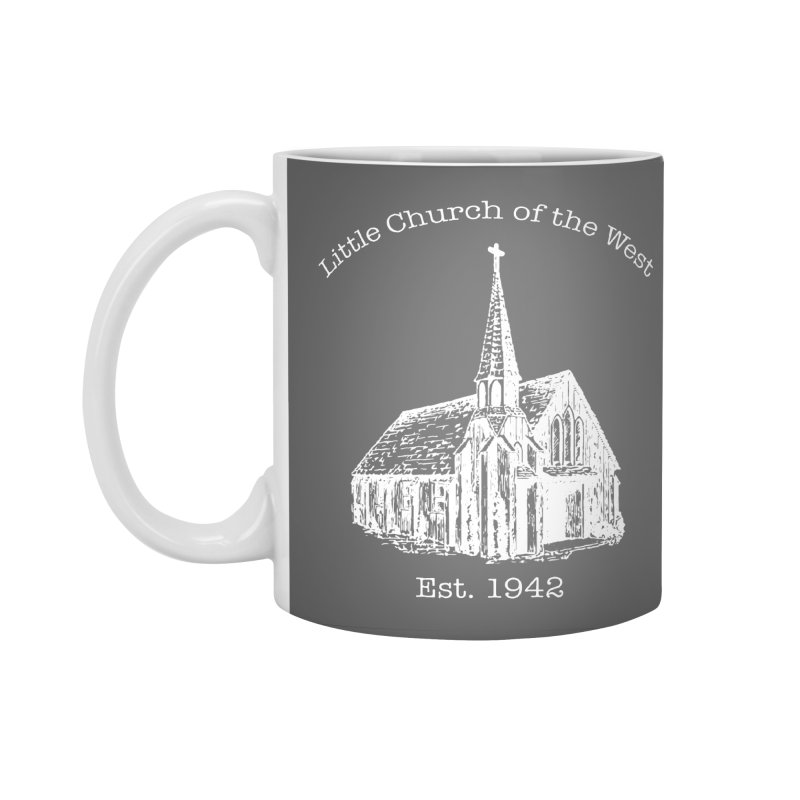 Chapel Accessories Mug by Little Church of the West's Artist Shop