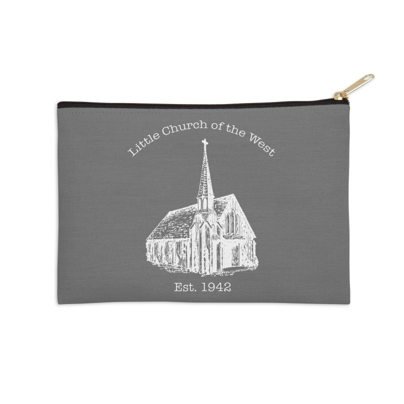 Chapel Accessories Zip Pouch by Little Church of the West's Artist Shop