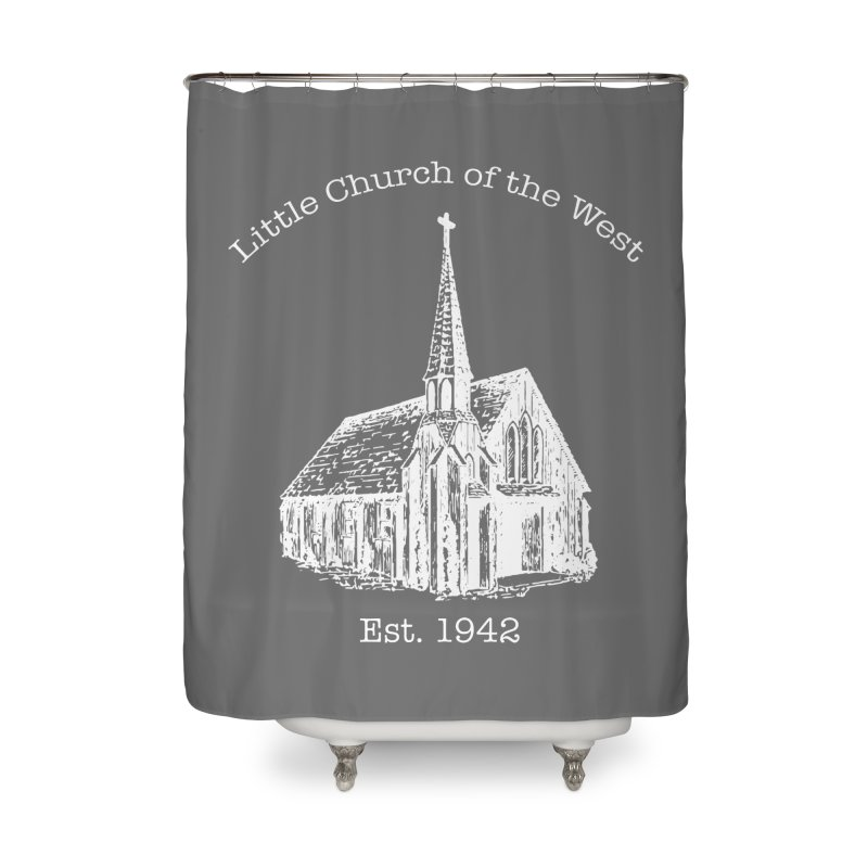 Chapel Home Shower Curtain by Little Church of the West's Artist Shop