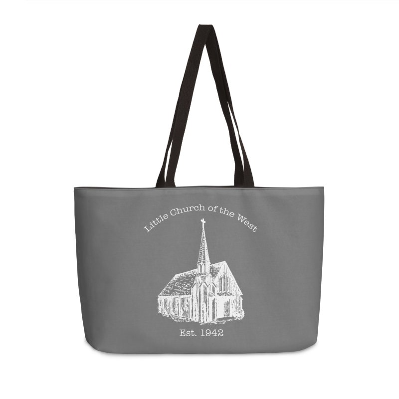 Chapel Accessories Weekender Bag Bag by Little Church of the West's Artist Shop