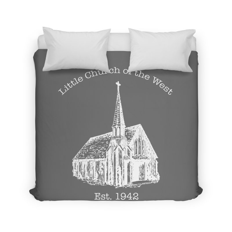Chapel Home Duvet by Little Church of the West's Artist Shop