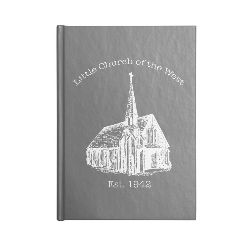Chapel Accessories Blank Journal Notebook by Little Church of the West's Artist Shop