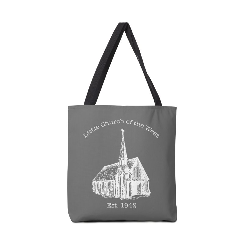 Chapel Accessories Tote Bag Bag by Little Church of the West's Artist Shop