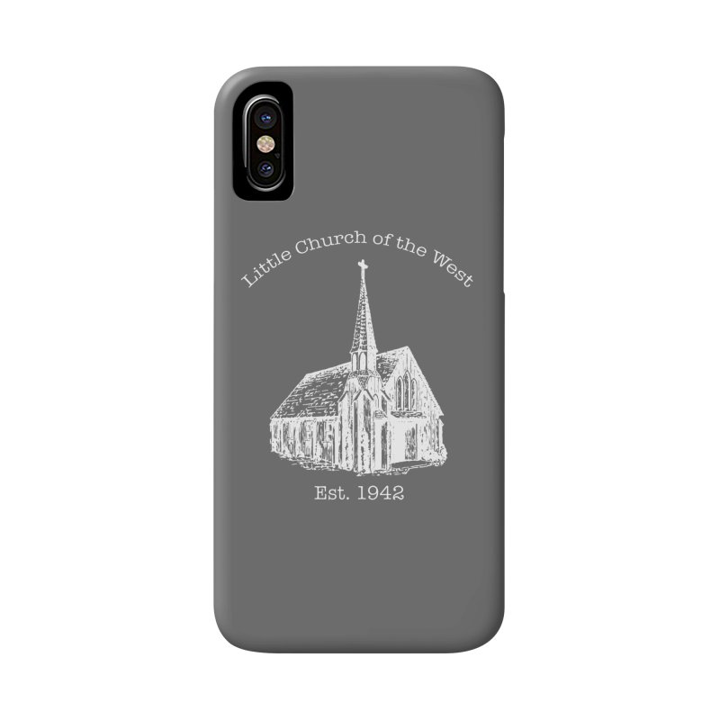 Chapel Accessories Phone Case by Little Church of the West's Artist Shop