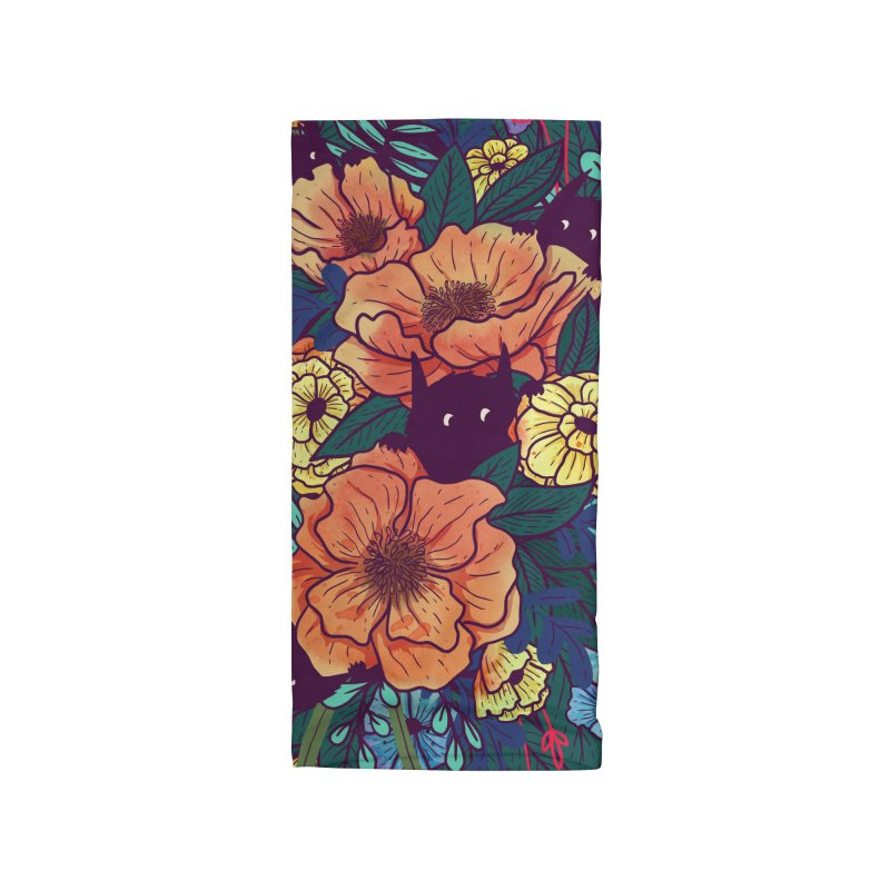 Wild Flowers Accessories Neck Gaiter by Littleclyde Illustration
