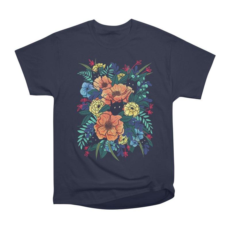 Wild Flowers Women's T-Shirt by Littleclyde Illustration