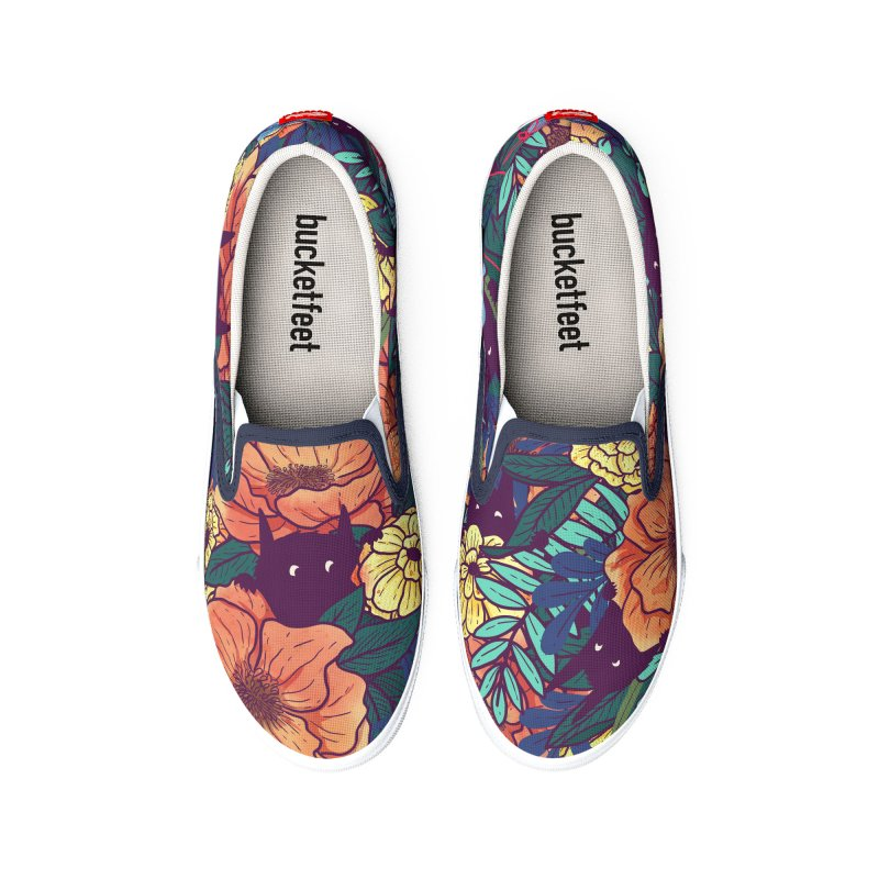 Wild Flowers Men's Shoes by Littleclyde Illustration