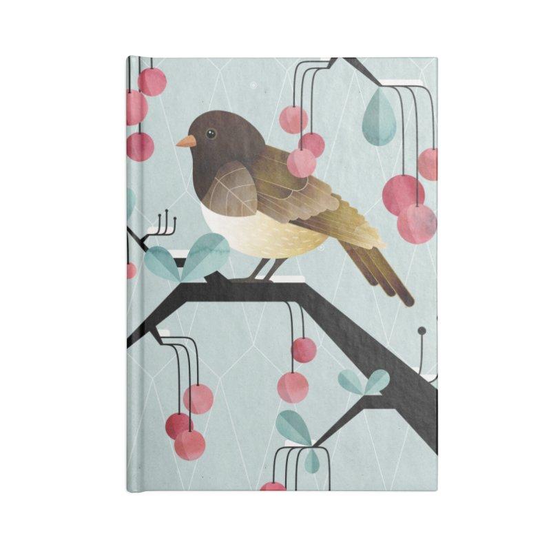 Bird, Watching Accessories Notebook by Littleclyde Illustration