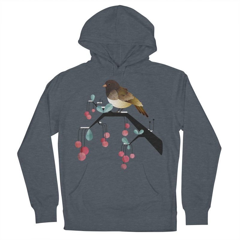Bird, Watching Women's Pullover Hoody by Littleclyde Illustration
