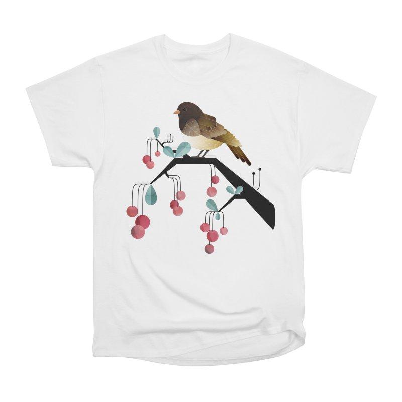Bird, Watching Women's Classic Unisex T-Shirt by Littleclyde Illustration
