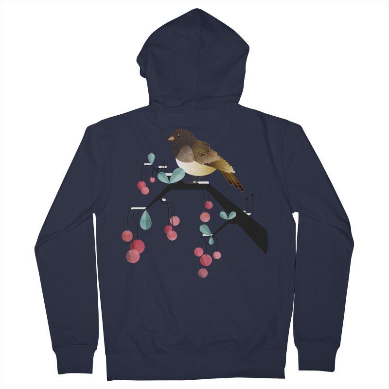 Bird, Watching Women's Zip-Up Hoody by Littleclyde Illustration