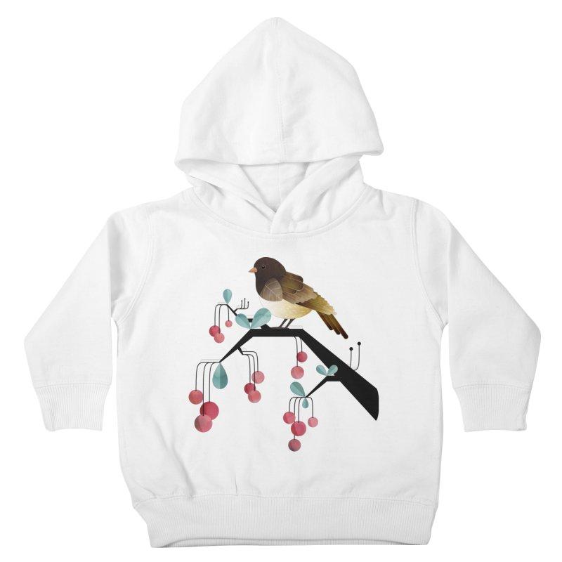 Bird, Watching Kids Toddler Pullover Hoody by Littleclyde Illustration