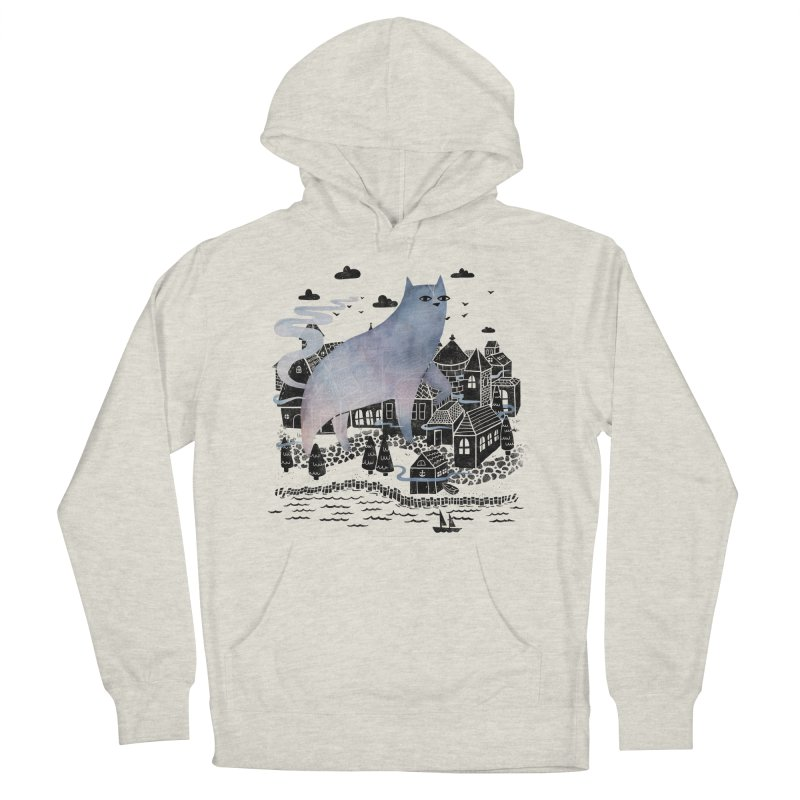 The Fog Men's Pullover Hoody by Littleclyde Illustration
