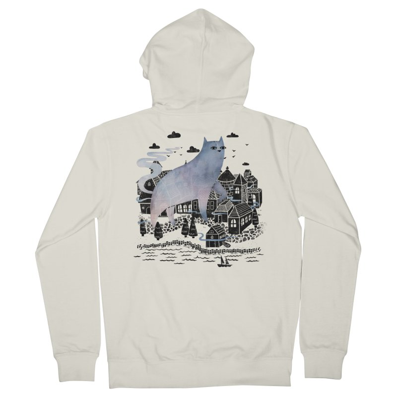 The Fog Women's Zip-Up Hoody by Littleclyde Illustration