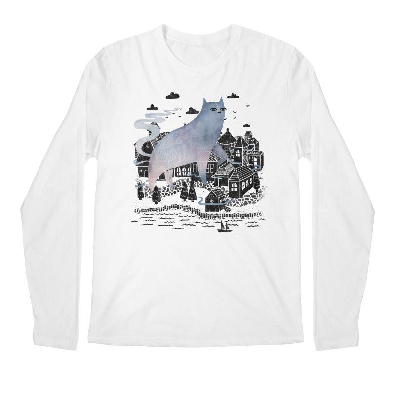 The Fog Men's Longsleeve T-Shirt by Littleclyde Illustration
