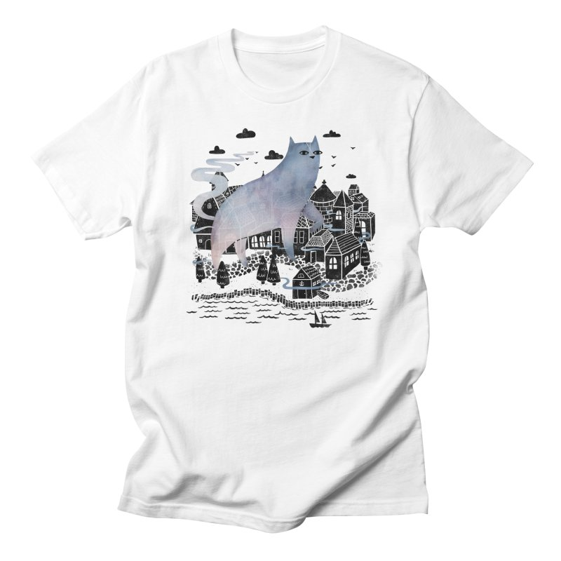 The Fog Men's T-shirt by Littleclyde Illustration