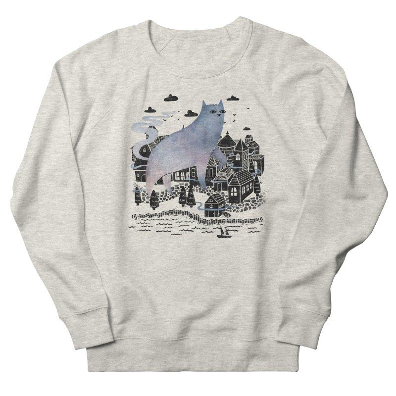 The Fog Men's Sweatshirt by Littleclyde Illustration