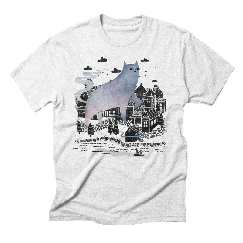 Fog Men's Triblend T-shirt by Littleclyde