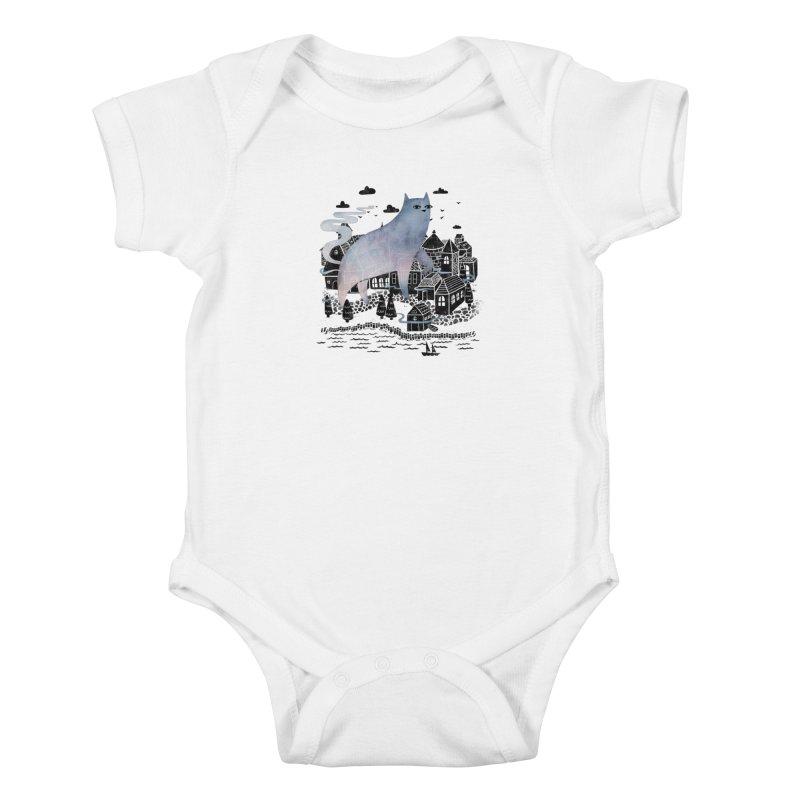 The Fog Kids Baby Bodysuit by Littleclyde Illustration