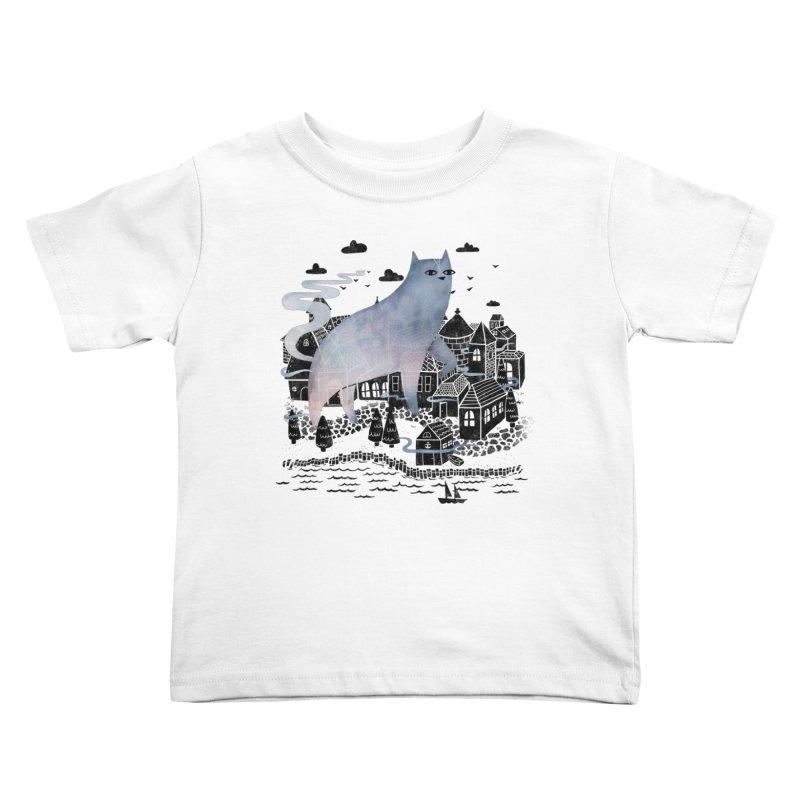 The Fog Kids Toddler T-Shirt by Littleclyde Illustration