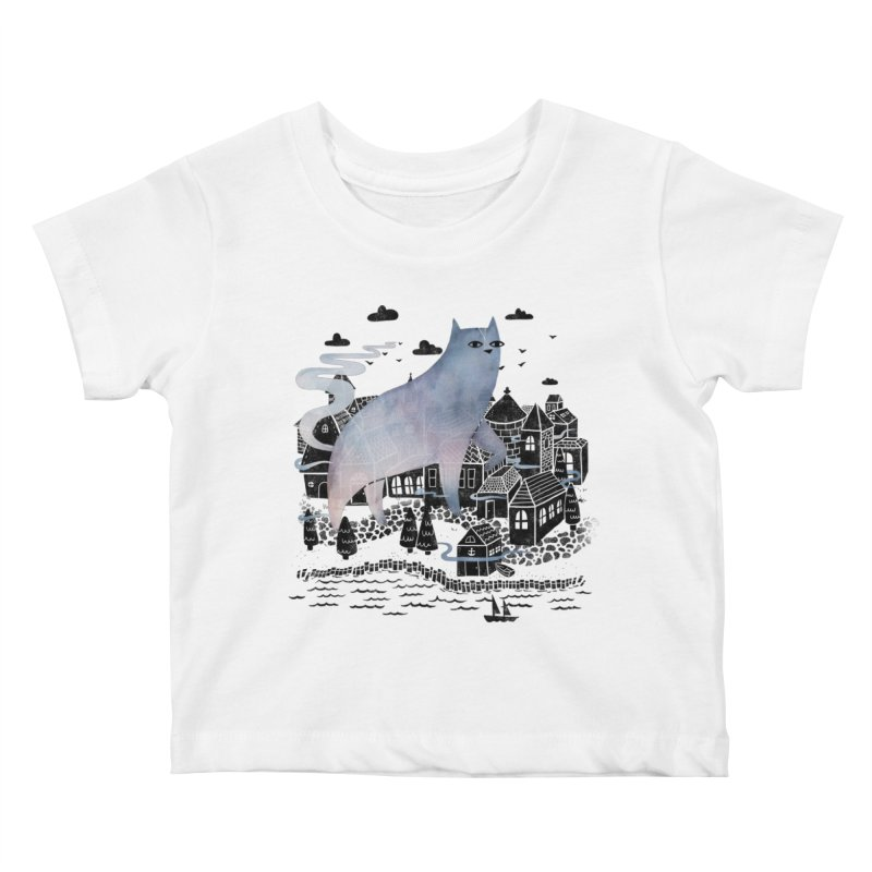 The Fog Kids Baby T-Shirt by Littleclyde Illustration