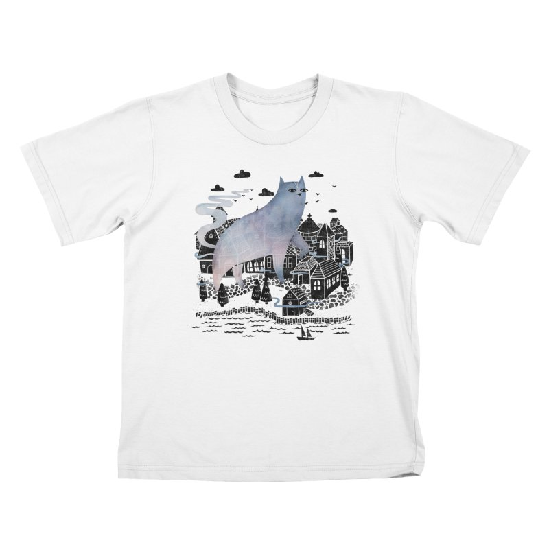The Fog Kids T-Shirt by Littleclyde Illustration