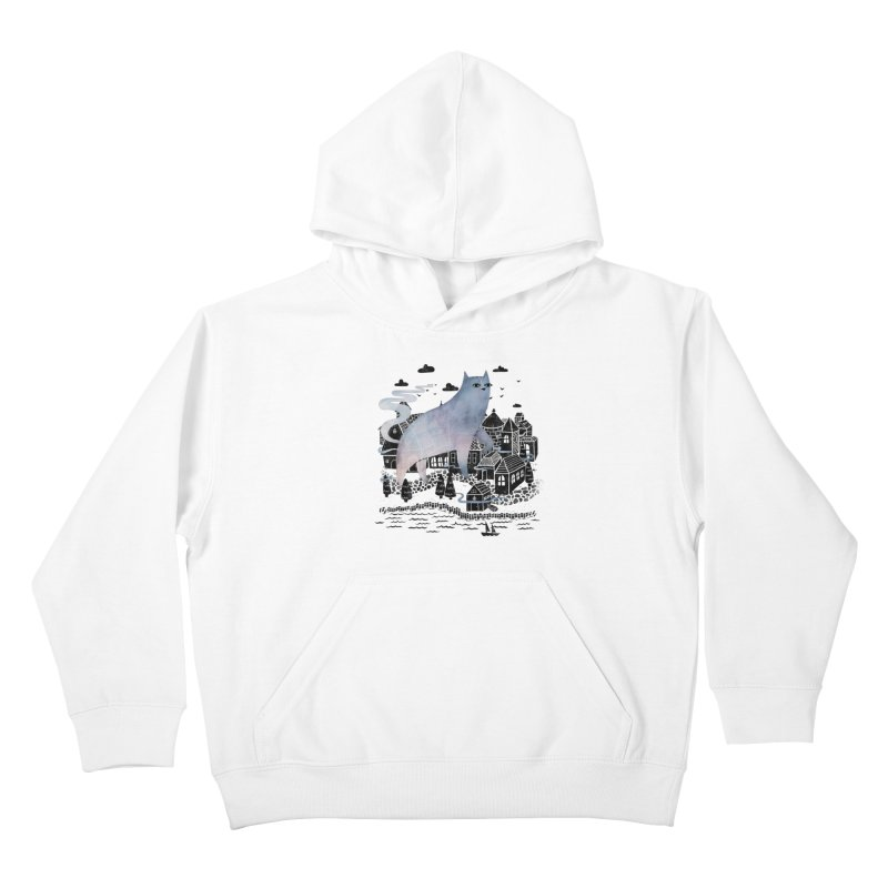 The Fog Kids Pullover Hoody by Littleclyde Illustration