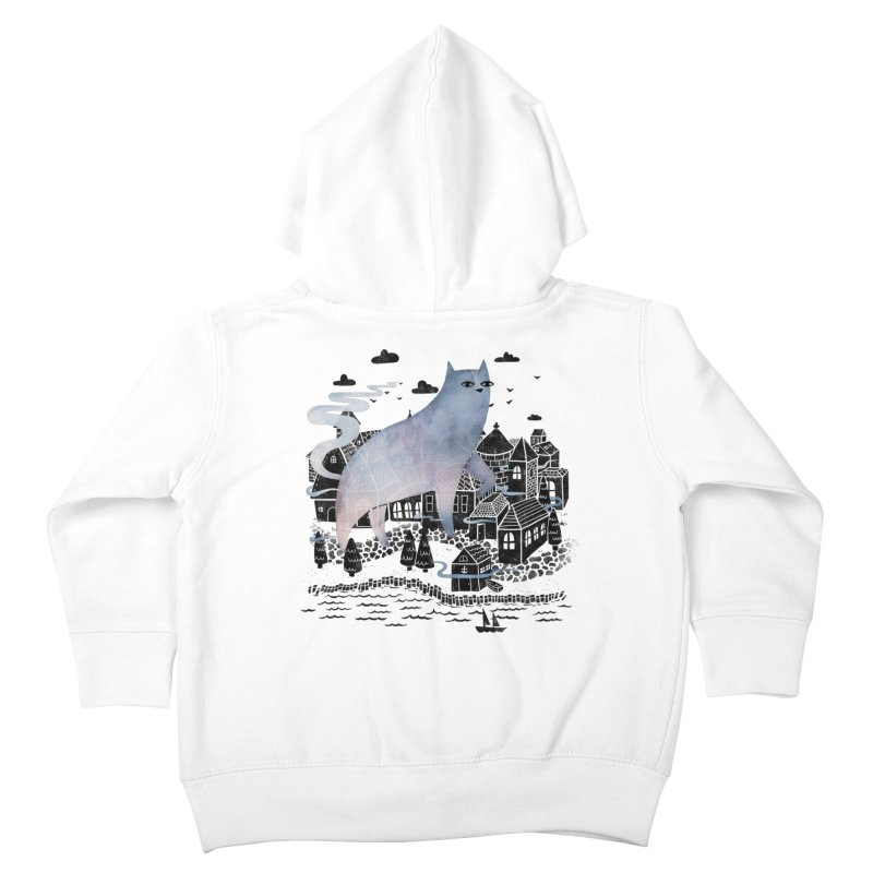 The Fog Kids Toddler Zip-Up Hoody by Littleclyde Illustration