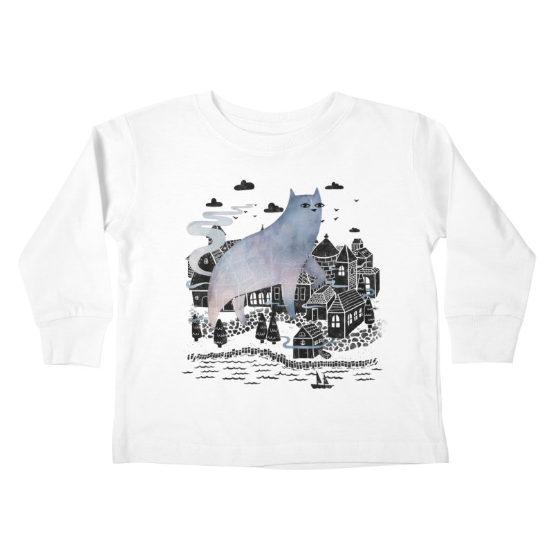 The Fog Kids Toddler Longsleeve T-Shirt by Littleclyde Illustration