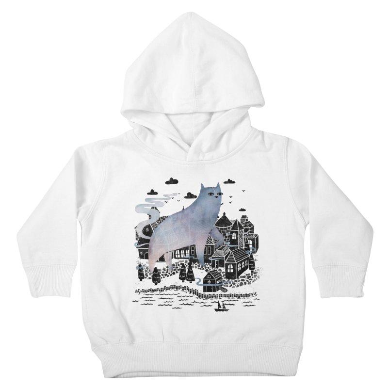 The Fog Kids Toddler Pullover Hoody by Littleclyde Illustration