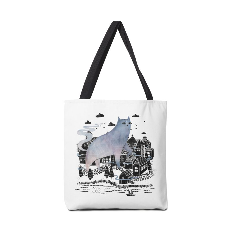 The Fog Accessories Bag by Littleclyde Illustration