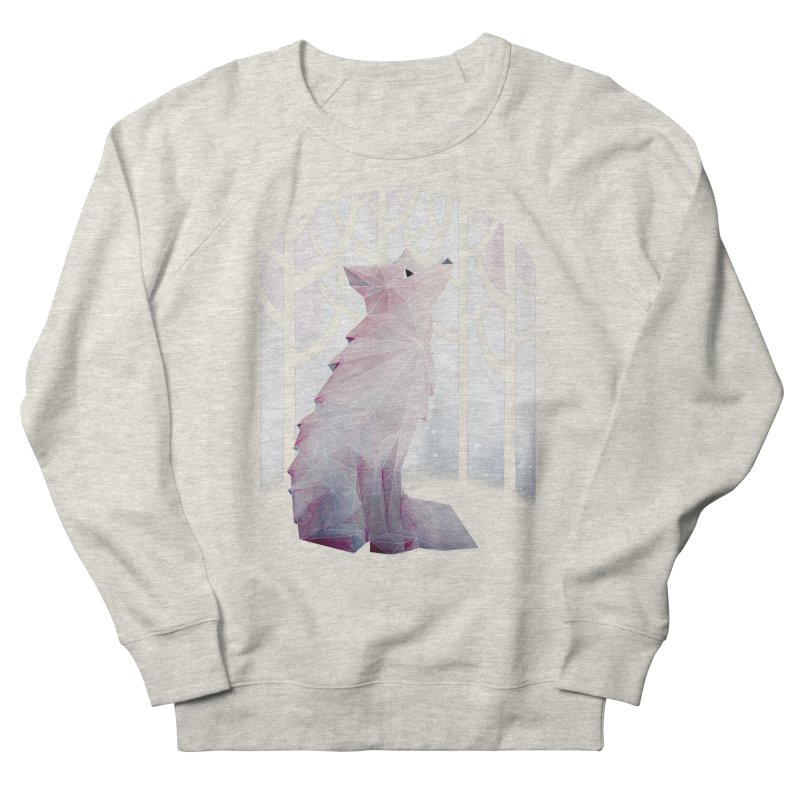 Fox in the Snow Men's Sweatshirt by Littleclyde Illustration