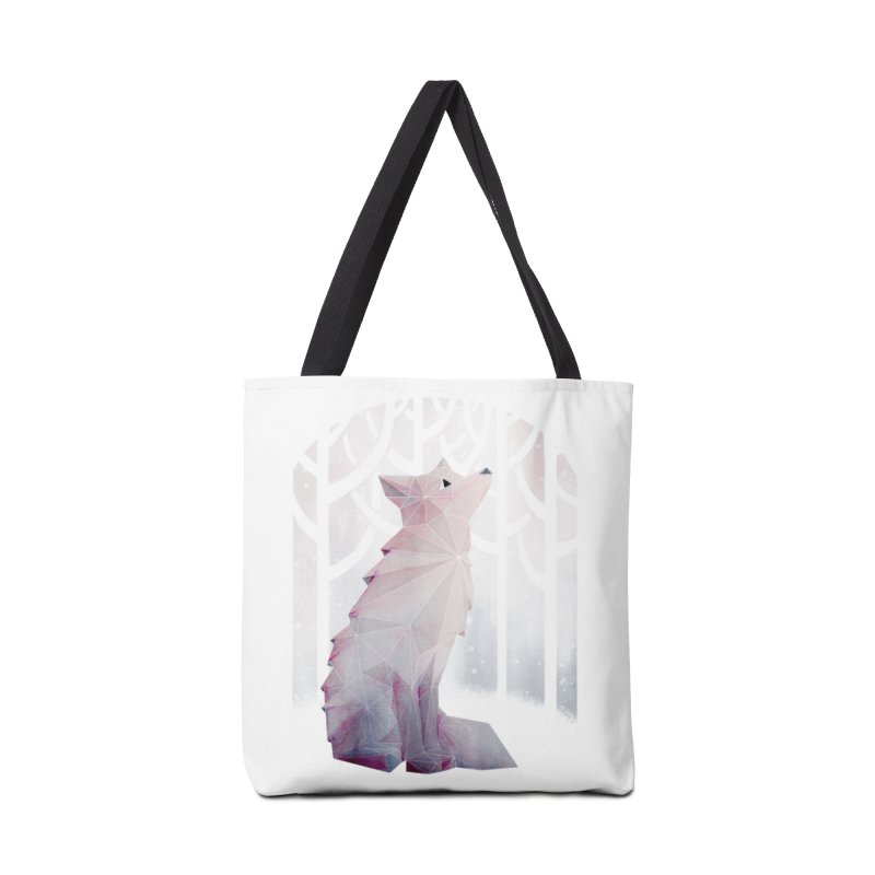 Fox in the Snow Accessories Bag by Littleclyde Illustration