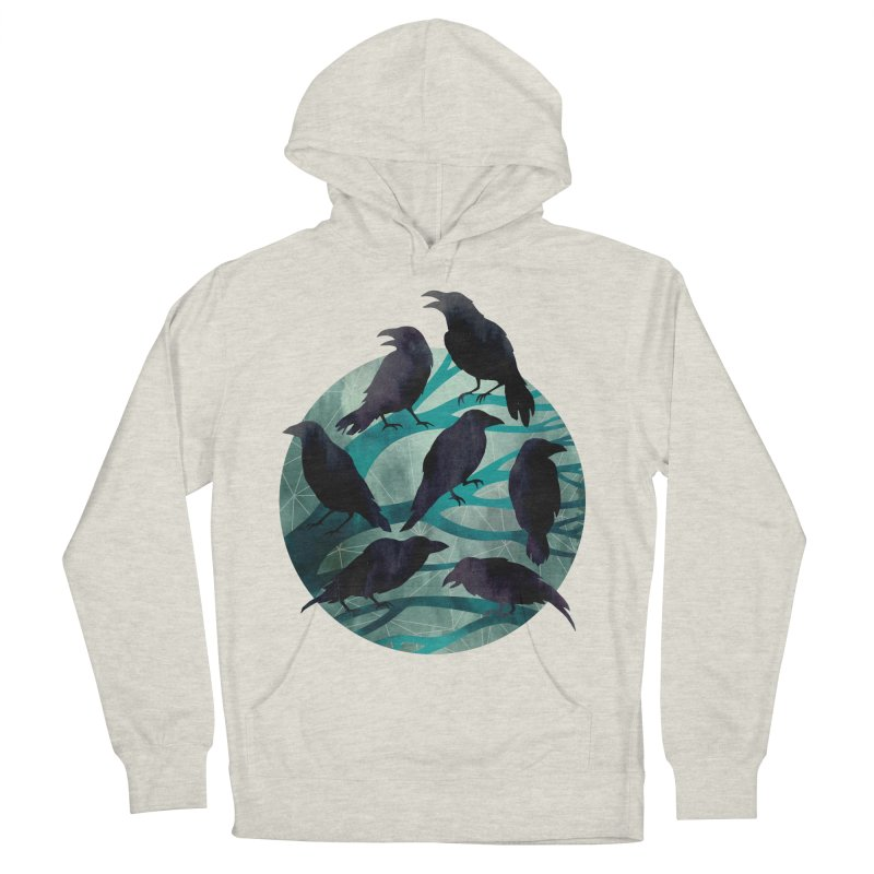 The Gathering Women's Pullover Hoody by Littleclyde Illustration