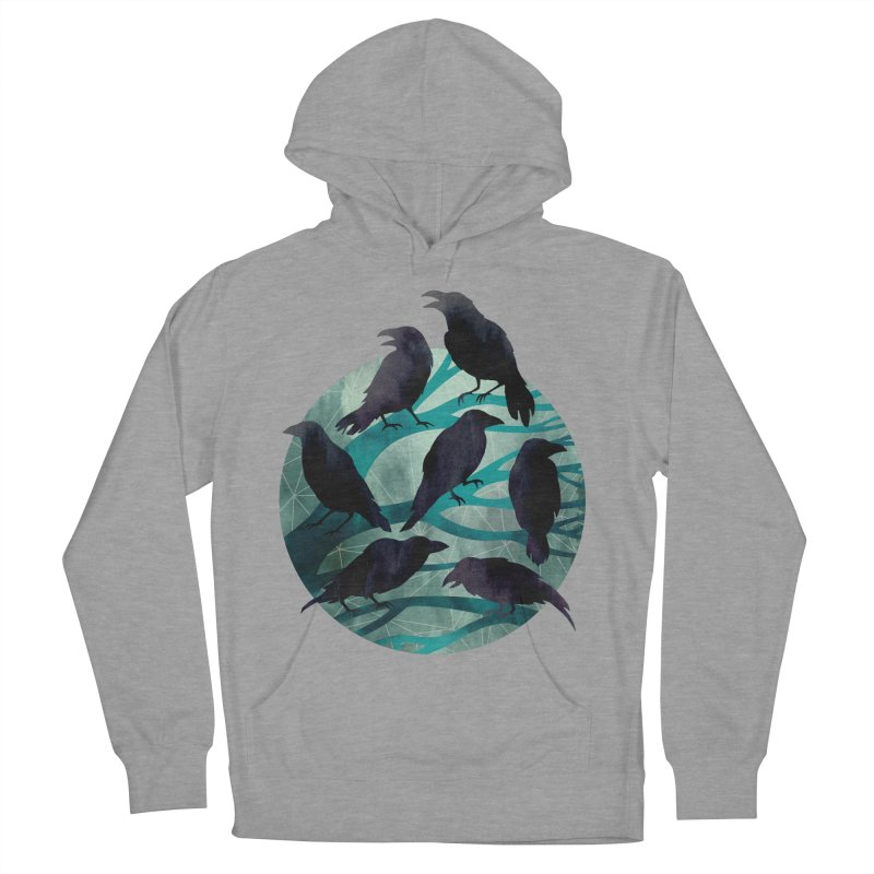 The Gathering Men's Pullover Hoody by Littleclyde Illustration