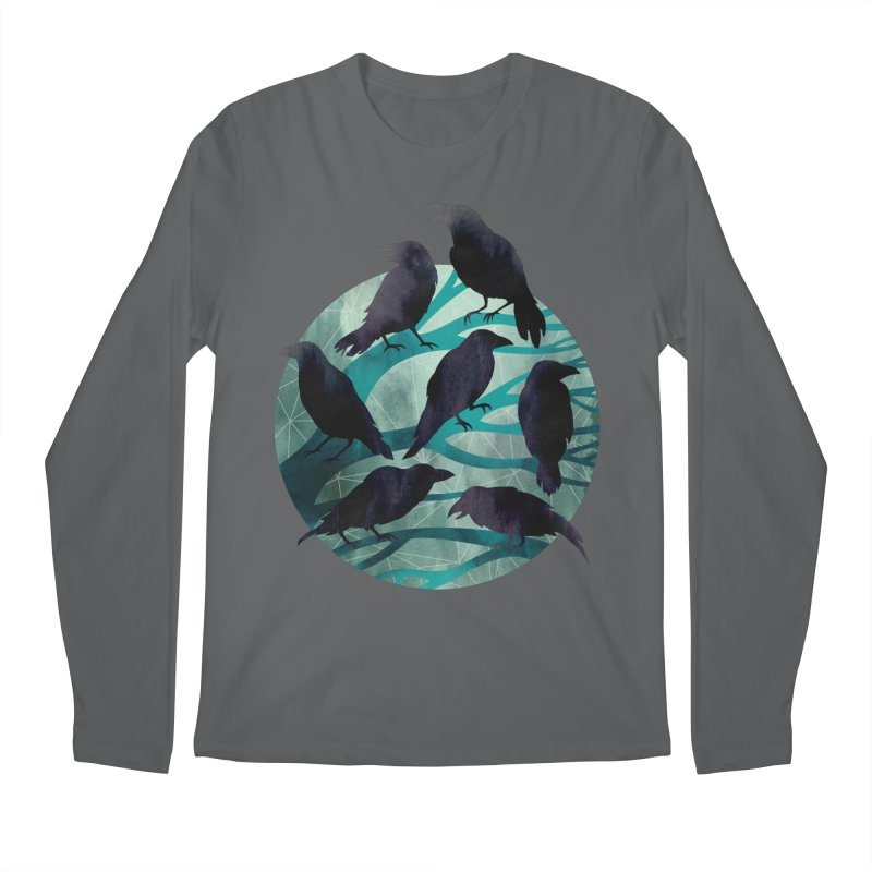 The Gathering Men's Longsleeve T-Shirt by Littleclyde Illustration