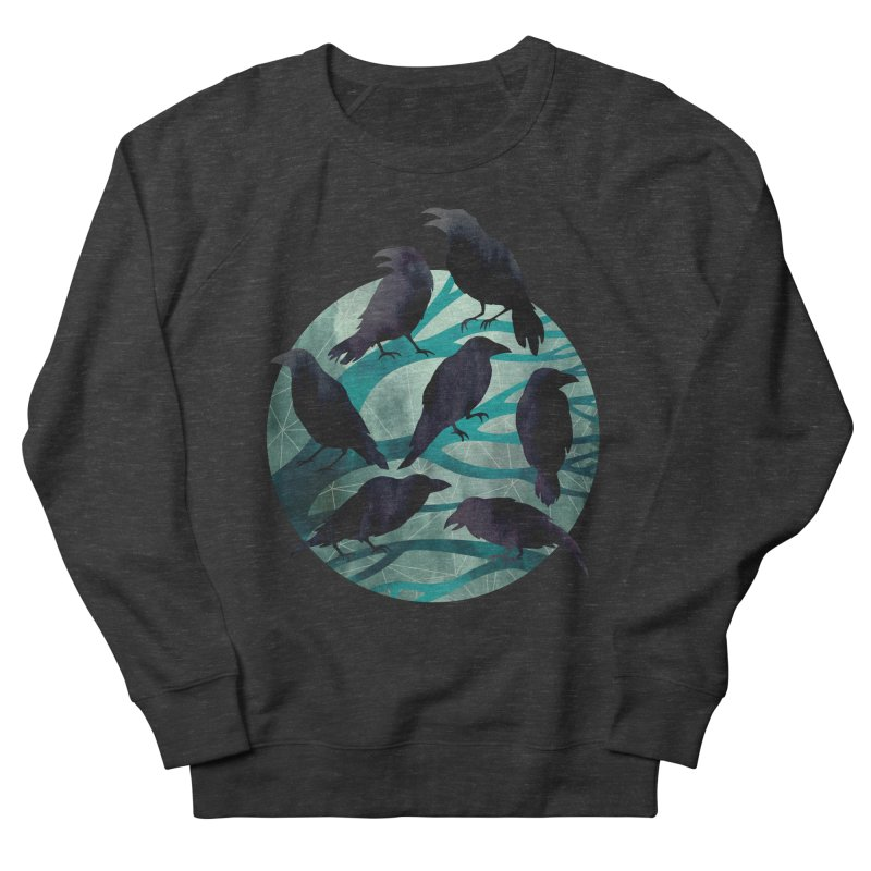 The Gathering Men's Sweatshirt by Littleclyde Illustration