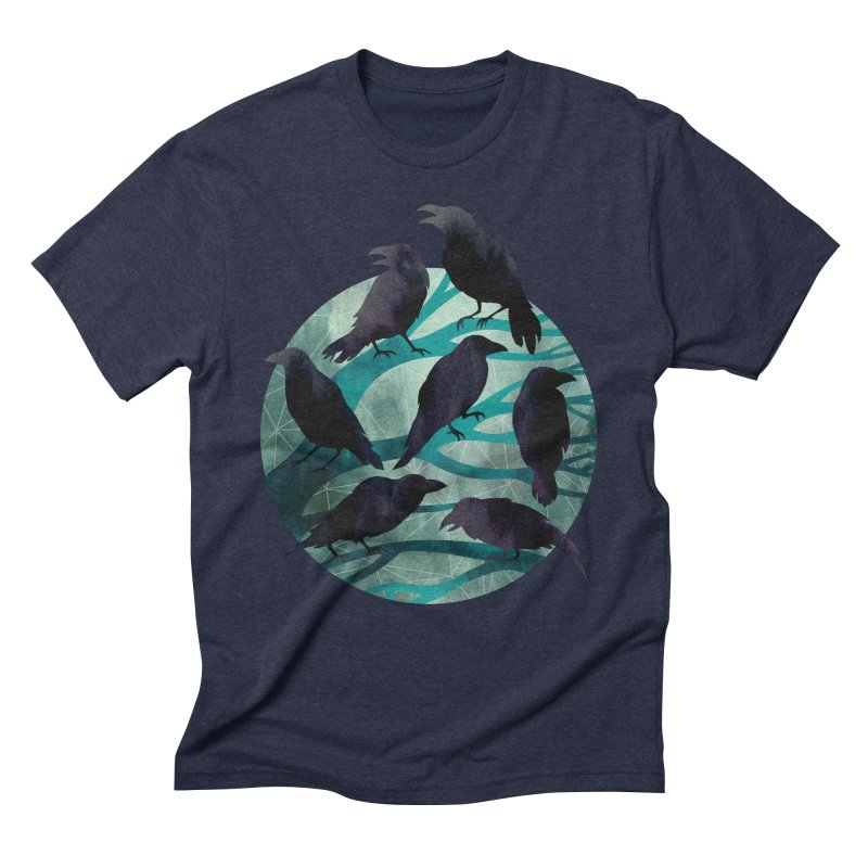 The Gathering Men's Triblend T-shirt by Littleclyde Illustration