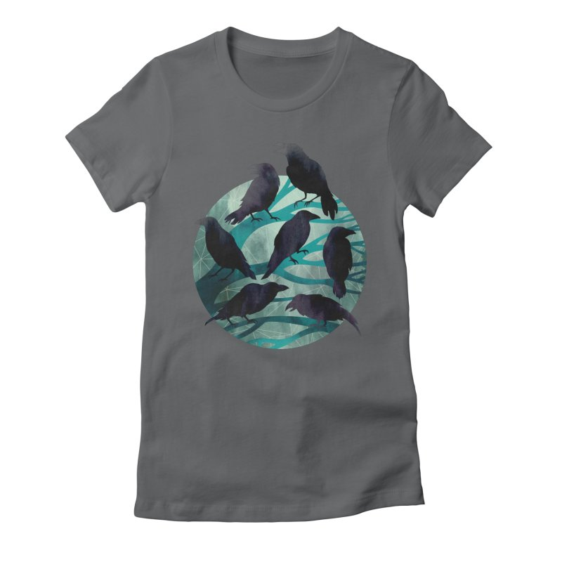 The Gathering Women's Fitted T-Shirt by Littleclyde