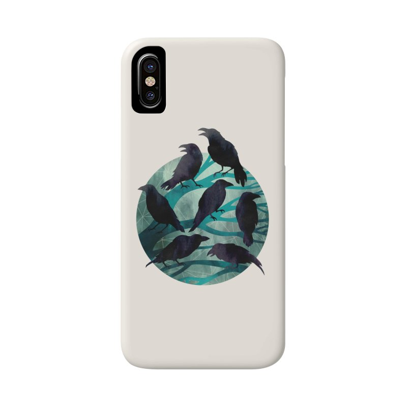 The Gathering Accessories Phone Case by Littleclyde Illustration