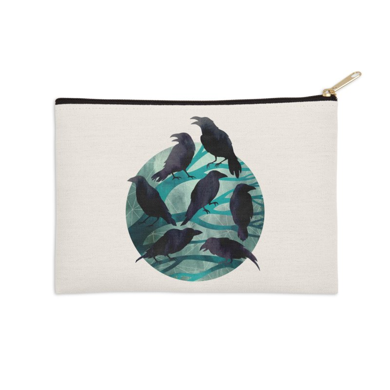 The Gathering Accessories Zip Pouch by Littleclyde Illustration