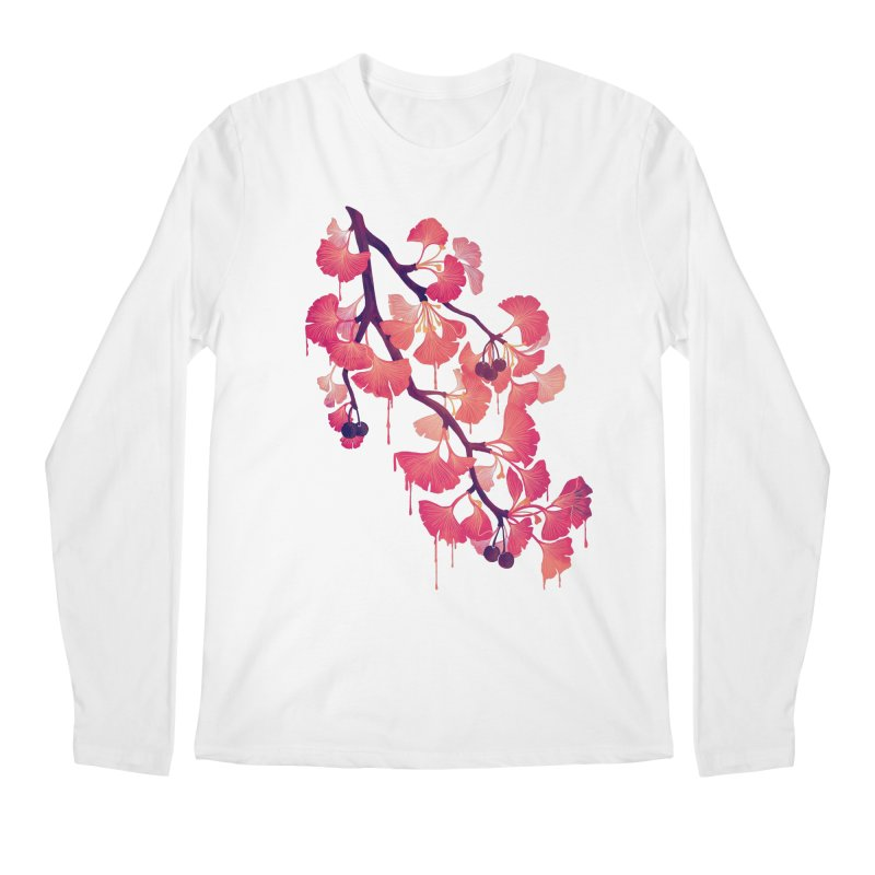 O, Ginkgo Men's Longsleeve T-Shirt by Littleclyde Illustration