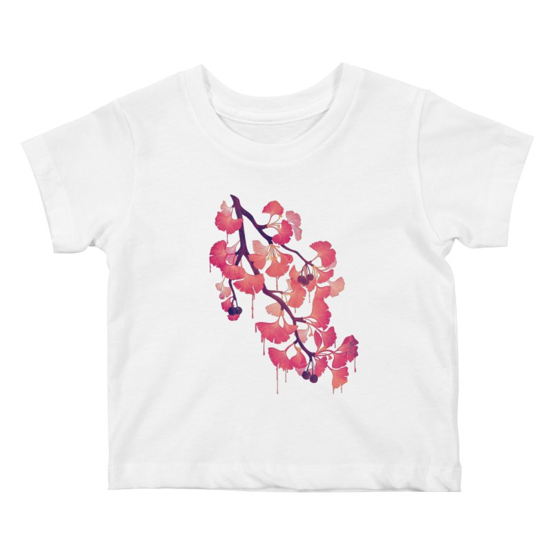 O, Ginkgo Kids Baby T-Shirt by Littleclyde Illustration