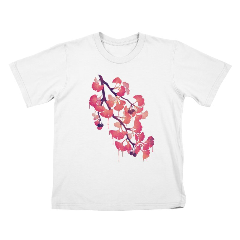 O, Ginkgo Kids T-Shirt by Littleclyde Illustration